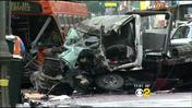 Bus Driver Dies After Tow Truck Slams Into Bus In Downtown