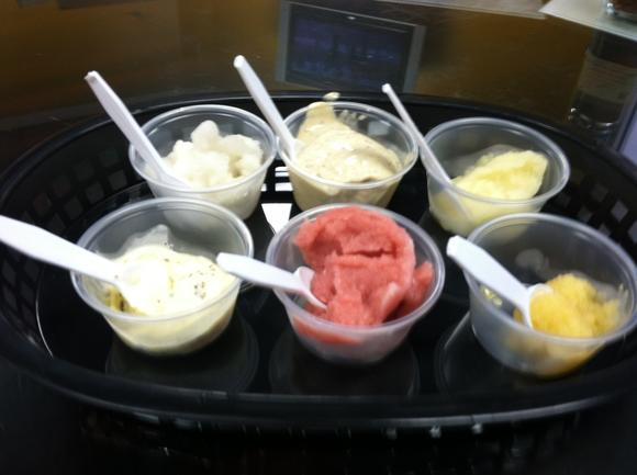 Ice creams and sorbets being developed at Virginia Gourmet