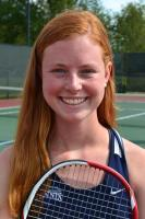 Mary Washington tennis player Shelby Harris of Newport News earned Division III All-American doubles honors in her first year of college.