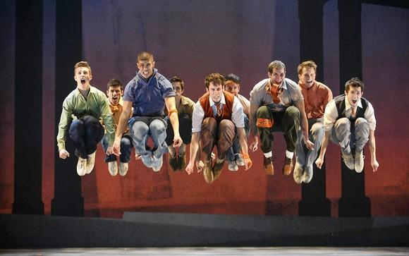 "The touring cast of ""West Side Story."""