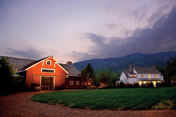 Sam Beall's Blackberry Farm lures guests with Tennessee mountain views and an insider's view on gourmet cuisine that draws flavor from Southern roots.