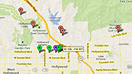 Bling Ring locations