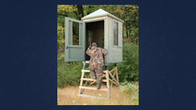Hunters' Blind has been created to sell at the TriState Relief Sale in July.