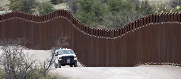 "A U.S. Border Patrol vehicle patrols along the U.S.-Mexico border in Arizona. The ""Gang of Eight"" immigration reform bill is now before the full U.S. Senate."