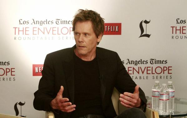 Kevin Bacon talks about television drama at the Envelope Emmy Round Table.