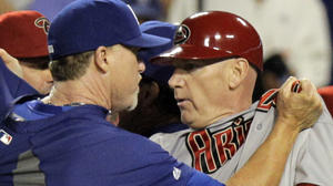In Dodgers-Diamondbacks brawl, Dodgers swung and missed