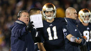 Kelly formally gives nod to Rees as Irish's starting QB