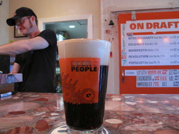 Eagle Rock Brewery is among the craft beer producers represented.