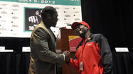 Pictures: 50 Cent Promotes Boxing Card In Hartford
