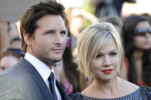 "Peter Facinelli and Jennie Garth in June 2010 at ""The Twilight Saga: Eclipse"" premiere in Los Angeles."