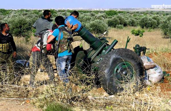 Syrian rebels fire homemade shells toward government forces in Idlib province. Americans' reluctance to donate to the Syrian humanitarian crisis has taken some of the political pressure off President Obama to agree to more U.S. involvement in the civil war there.