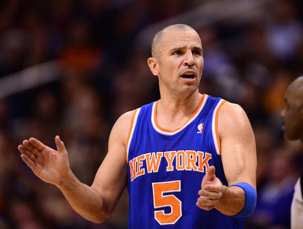 Former Knicks guard Jason Kidd.