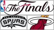 A look at the starting lineups, inactives, referees and a pregame note of note for Thursday's 9 p.m. NBA Finals game between the Miami Heat and San Antonio Spurs at the AT&T Center (ABC), with Mike Miller starting in place of Udonis Haslem for the Heat: