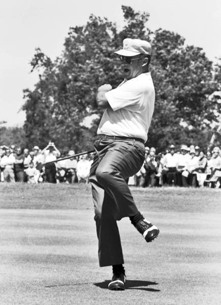"Miller Barber's swing was compared to ""an octopus falling out of a tree,"" but he said: ""After I loop the club to the inside on the downswing, I look like any other good player. The downswing is all that matters."""