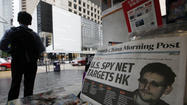 Snowden alleges U.S. hacking against China, Hong Kong