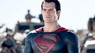 Review: In 'Man of Steel,' Henry Cavill soars over an erratic plot