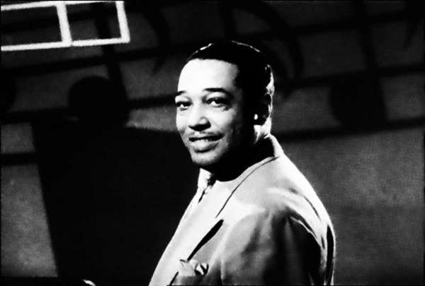 Composer Duke Ellington, in an undated photograph.