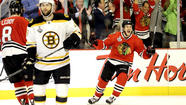 Blackhawks take Game 1 of Stanley Cup Final in triple overtime