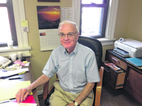 Ron Sather, 77, will retire at the end of the month after 15 years with the Four Flags Area Chamber of Commerce in Niles.