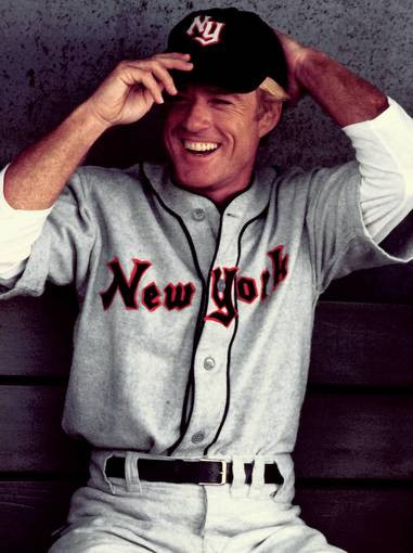 Robert Redford stars as baseball player Roy Hobbs in 'The Natural', 1983.