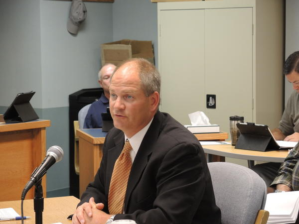 Ron Harris, of auditing firm Harris Group, presented the county's 2012 audit to the Charlevoix County Board of Commissioners Wednesday.