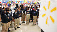 "Wal-Mart Stores Inc has in recent months been only hiring temporary workers, which it calls ""flexible associates,"" at many of its U.S. stores."