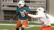 DAVIE - If you asked me to name the top playmaker for the Miami Dolphins offense during the offseason practices the media has attended Armon Binns name would be the first one out my mouth.