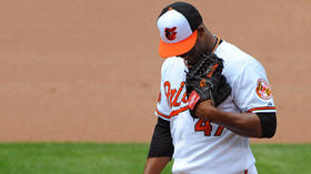 Orioles put struggling Strop in a tough situation