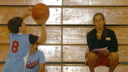 LIBERTY — Youngsters weren't the only ones who were learning at Randy Salyers' basketball camp.