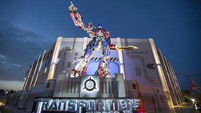 Entering the world of Transformers at Universal Orlando