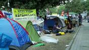 'We're staying here' say protestors in Gezi Park