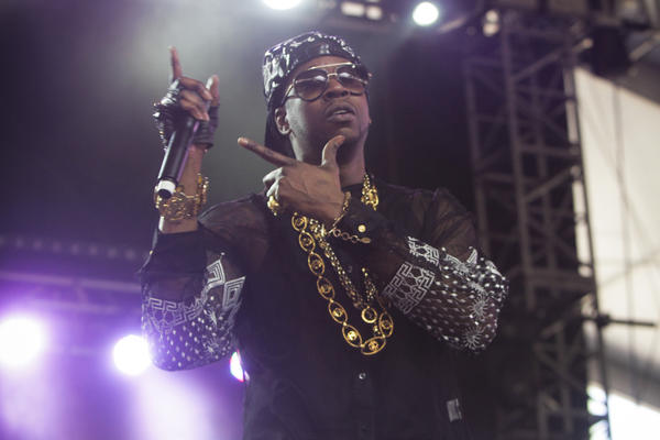 2 Chainz performs at the Coachella Valley Music and Arts Festival at the Empire Polo Club in Indio.