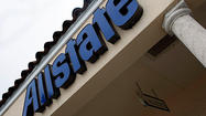 Northbrook-based Allstate Corp., long the nation's second-largest seller of auto insurance, was topped by Geico for the first time in the first three months of the year.