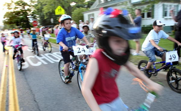 Kids can decorate their bikes and ride in a parade Friday at the Laurel Armory/Anderson and Murphy Community Center.