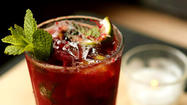 <strong>Blackberry mojito</strong>: Craving mojitos this time of year? Head on down to Ñ, a hip Avondale restaurant/bar from the owners of Folklore and Tango Sur, for a variety of fruit-flavored twists on the classic Cuban highball.