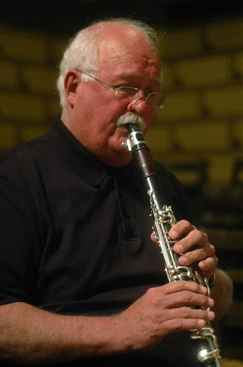 Clarinetist Larry Combs