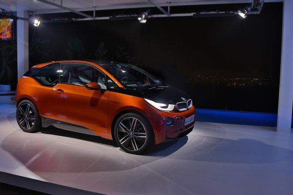 BMW's forthcoming all-electric i3 will be one of the first two EVs to hit the market with a combination charge port for home and public charging. BMW is one of six automakers to adopt the new industry standard.