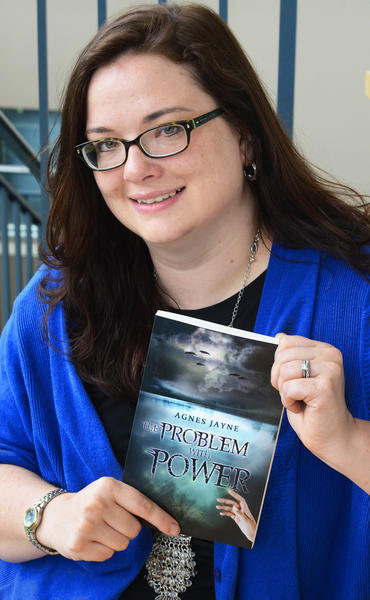 Alicia Drumgoole, who writes under the pen name Agnes Jayne, has released her first novel, The Problem with Power.