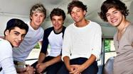 One Direction cause a stir in South Beach