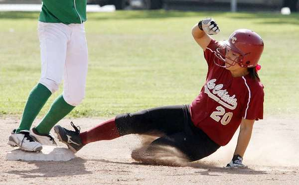 ARCHIVE PHOTO: La Cañada High catcher Olivia Lam was named a Rio Hondo League first-teamer.