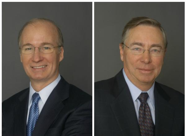 John P. Nallen, left, will become chief financial officer of 21st Century Fox. David DeVoe, CFO of News Corp., is retiring.