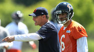 "<strong>Jay Cutler</strong> took a small dig this week at former Bears coach <strong>Lovie Smith</strong> when he said new coach <strong>Marc Trestman</strong> ""really cares about the players in the locker room, which is different."""