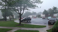 Severe storm hits Laurel [Raw Video]