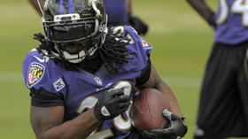 Ravens reserve RB Damien Berry arrested on failure to appear warrant stemming from traffic citations