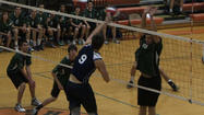 Best Rally Of The CIAC Boys Volleyball Tournament From Oxford Versus Enfield In Class M Final