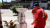 Video: A faux Stanley Cup at Wrigley Field