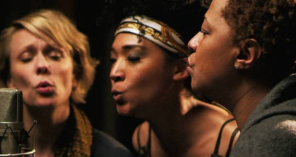 "Jo Lawry, left, Judith Hill and Lisa Fischer in ""Twenty Feet From Stardom."""