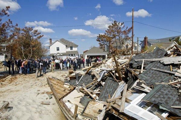 Wreckage in Mantoloking, N.J., after Superstorm Sandy, which claimed 130 lives and caused about $65 billion in damage.