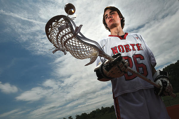 North Hagerstown senior Drew Brooks is the 2013 Herald-Mail Washington County Boys Lacrosse Player of the Year.