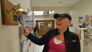 A small bell and a simple ceremony carry huge significance for the patients and staff of Blue Ridge Cancer Care. Marking the end of her chemotherapy treatments by reading a verse and ringing the bell was a moment Susan has focused on since she learned she had cancer.